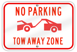No Parking / Tow Away Zone